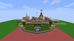 Disneyland Anaheim Minecraft Map & Project
