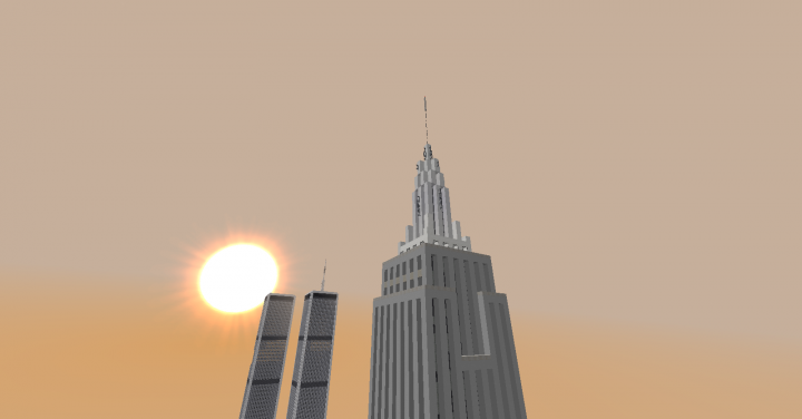 Empire State Building & WTC