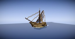 Medieval Sailing Ship (ROL) Minecraft Map & Project