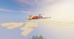 Private Jet - Chisel and bits Minecraft Map & Project