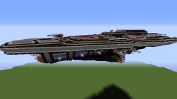 Welfort-Futuristic Carrier Minecraft Map & Project