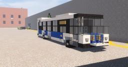 MTA Nova Bus LFS Diesel & Diesel Artic Minecraft Map & Project