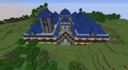 Solitude blue palace reinvisioned Minecraft Map & Project