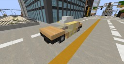 NYC Taxi Cab (Ford Crown Victoria) Minecraft Map & Project
