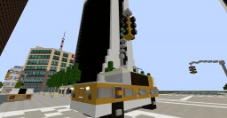 NYC Taxi Cab SUV Minecraft Map & Project
