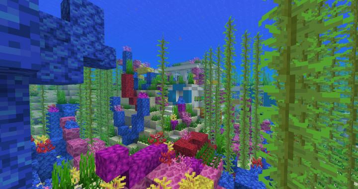 Underwater Base - Aquatic Update Minecraft Map