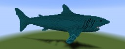 The Megalodon Shark Minecraft Map & Project