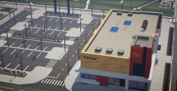 McDonald's  - Chicago Minecraft Map & Project
