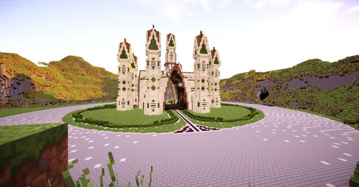 Popular Server Project : Sand Palace Hub (W.I.P.) ~ ♛ Crown Build Team ♛ ~