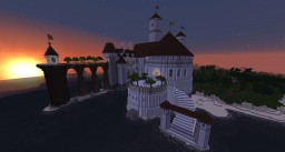 "Prince Eric's Castle [From ""The Little Mermaid""] Minecraft Map & Project"