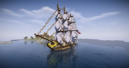 Fictional Ship | USS States (ROL) Minecraft Map & Project