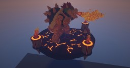 Bowser Battle Minecraft Map & Project