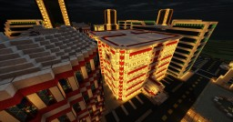 Neon Lit Modern City Minecraft Map & Project