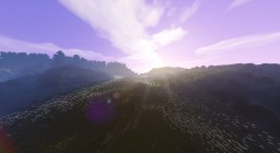 Rolling Plateaus and Picturesque Mountain Passes PLANTED - FREE DOWNLOAD MAP Minecraft
