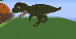 Organic Dinosaur T-Rex Minecraft