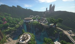 Fantasy World Project | 7.5k x 7.5k Minecraft Map & Project