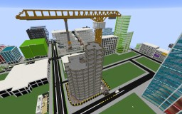 Construction Zone Of A Building Minecraft Map & Project