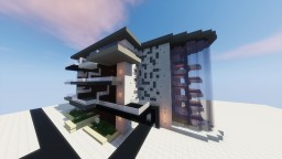 Modern Building - Schematic Minecraft Map & Project