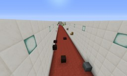 The 3 level parkour Minecraft