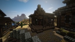 Adding some more Life to my Wild Western Town Minecraft Map & Project