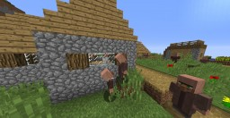 Villagers with Arms Resource Pack Minecraft