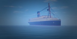 SS ELIZABETH ,,Tender of the RMS BRITAIN'' Minecraft