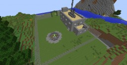 Nuclear shelter with HBM Nuclear tech mod [1.7.10] Minecraft