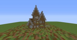 Medieval House with Interior Minecraft Map & Project