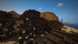 Wild Western Collapsed Gold Mine and a Factory Minecraft Map & Project