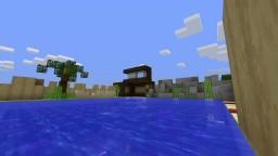 Beach Modern House Minecraft Map & Project