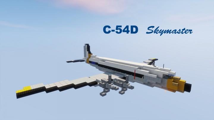 Popular Server Project : C-54D Skymaster USAF 1,5:1
