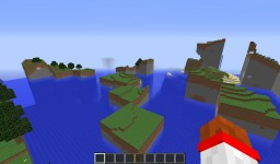 Messed up world Minecraft Map & Project