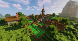 Transformation: Plains Village Minecraft Map & Project