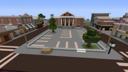 Hill Valley - California - 1985 Minecraft Map & Project