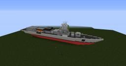 James E. Hunter-class Frigate Minecraft Map & Project