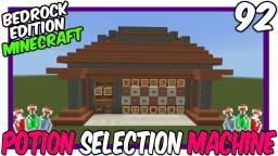 Semi Automatic Mega Brewing Station Bedrock Edition Minecraft Map & Project
