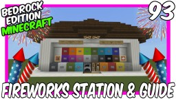All-In-One Fireworks Station & Guide Minecraft Map & Project