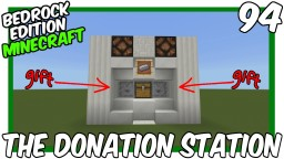 The Donation Station Minecraft Map & Project