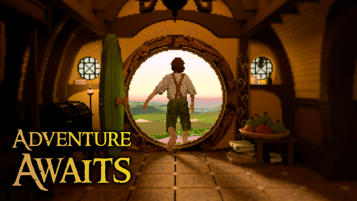 Popular Project : The Hobbit | Adventure Awaits!