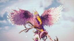 Floral Bird from the Imagination Minecraft