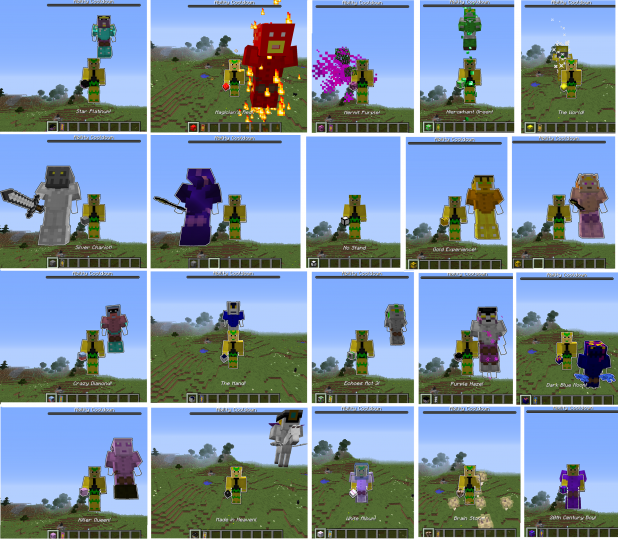 Popular Mod : JoJo Stands DataPack for Minecraft 18w11   (v1.2.3)