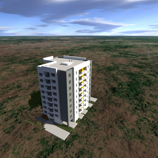 Minecraft Apartment: Simple Apartment Building 1 [Download] Minecraft Map