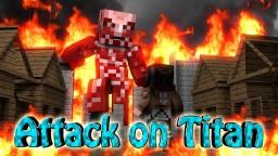 Attack on titan craft Minecraft Texture Pack