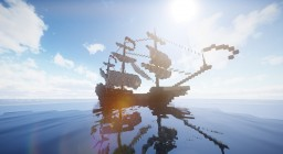 Bald Eagle - Fiction pirate galleon Minecraft Map & Project