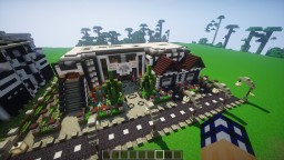 Huge Modern House - Villa | v2.2.5 Minecraft