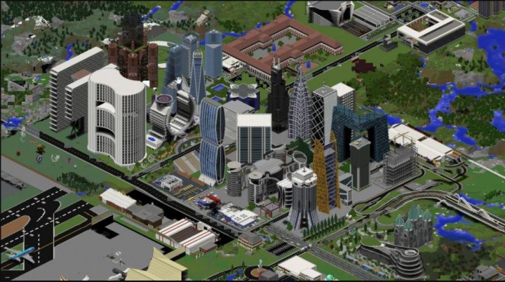 Popular Server Project : Freebuild City
