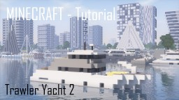 Trawler Yacht 2 (full interior) Minecraft Map & Project