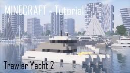 Trawler Yacht 2 (full interior) Minecraft