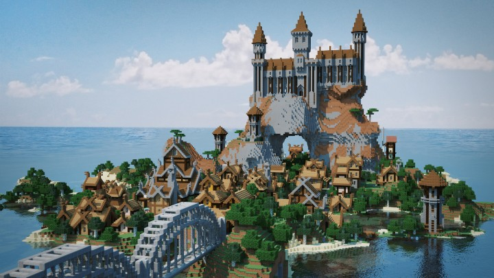 Popular Project : Enderal - nordic island