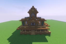 Large Rustic House Minecraft Map & Project